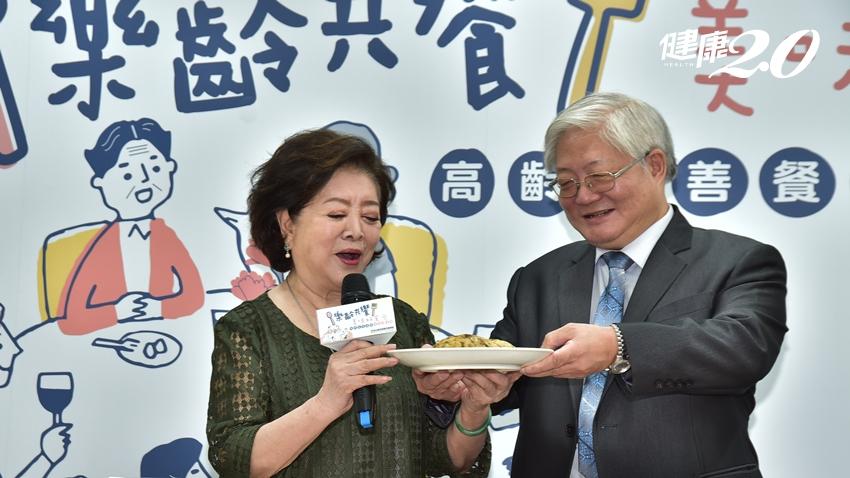 「國民阿嬤」陳淑芳也沒想到的料理方式!國健署與業者共推「高齡友善」餐廳