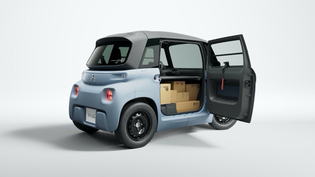 Citroen近期推出商務用途的版本My Ami Cargo。(圖片來源/ Citroen) 跑foodpanda、Uber Eats可以考慮! Ami商用版亮相