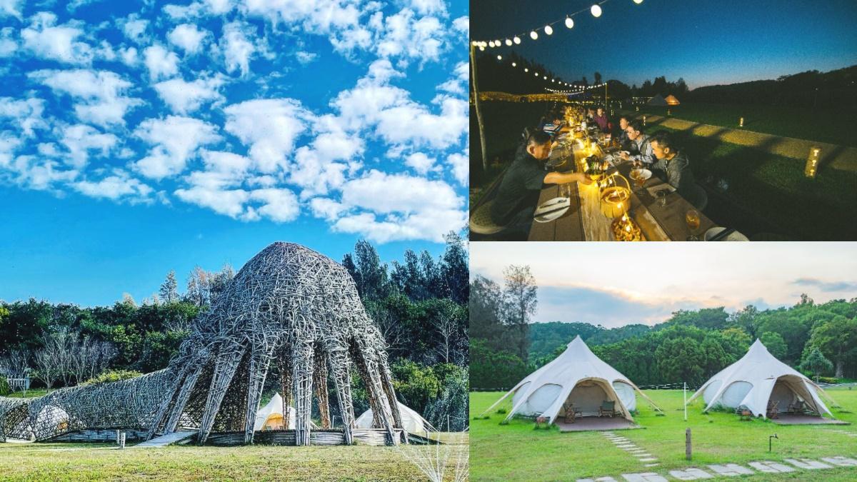 抽免費夢幻露營!日本虎牌x勤美學「全球首場野營」:星空下用餐、獨家蜷尾家銅鑼燒冰