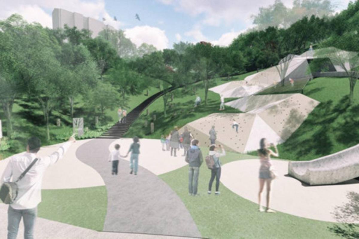放電天堂再+1!11公頃「文山森林公園」2022年開幕,46公尺溜滑梯、5大主題區一次看