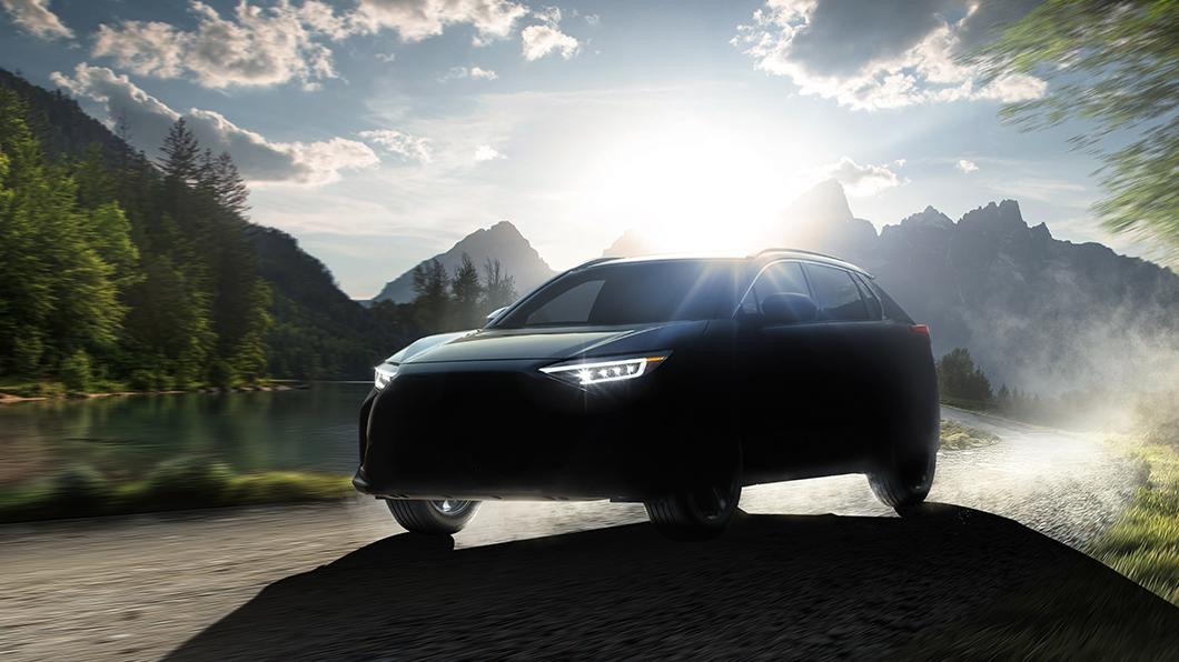Subaru首款純電動車Solterra。(圖片來源/ Subaru) 速霸陸首款電動休旅終於要來了! Solterra預計明年中上市