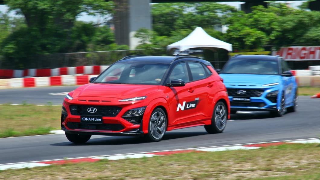 Hyundai近年來積極參與賽車運動,挑戰包含WRC、TCR、24小時耐久賽等國際賽事。(圖片來源/ TVBS) 小改款Kona售價86萬起 N Line加持更具跑格