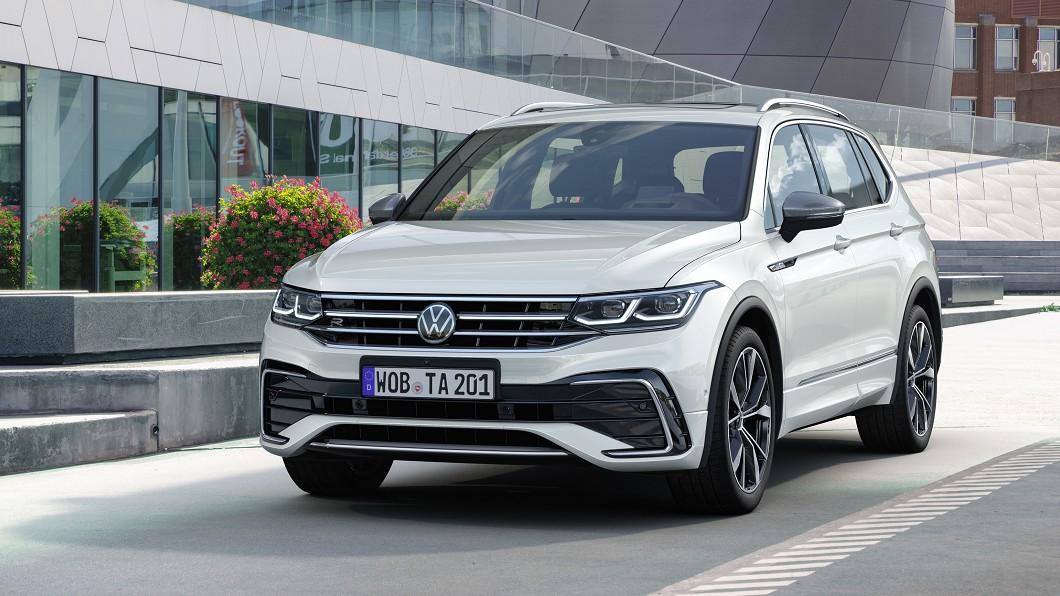 小改款Tiguan Allspace正式發表現身。(圖片來源/ Volkswagen) 7人座Tiguan改款首發亮相 臺灣規劃明年初上市
