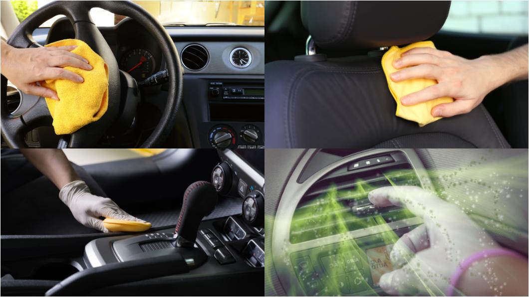 防疫期間車內清潔相當重要,才能避免讓自己身陷病毒溫床。(圖片來源/ shutterstock) 消毒防疫不漏掉車內 小心別這樣做!不然內裝壞光光