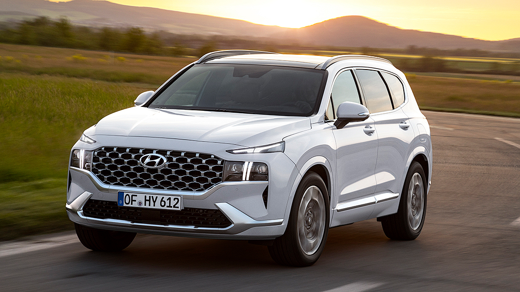 改款Santa Fe預計於今年暑假期間在臺灣上市開賣。(圖片來源/ Hyundai) 新款Santa Fe油耗數字曝光 預計暑假上市開賣