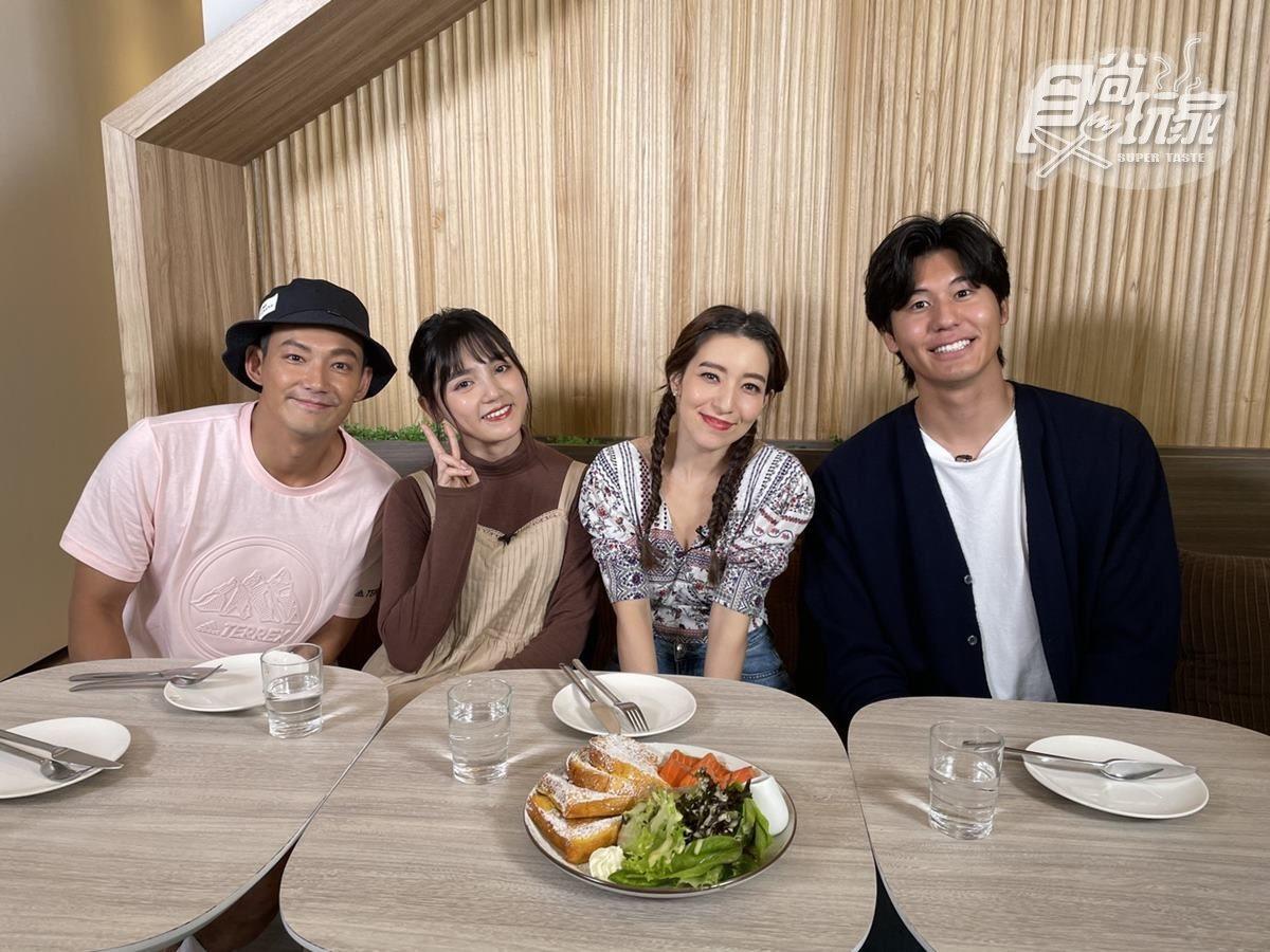 《熱血48小時》公開2歌姬私藏美食!威廉愛上「愛玲套餐」,風田與Lara上演餵食秀