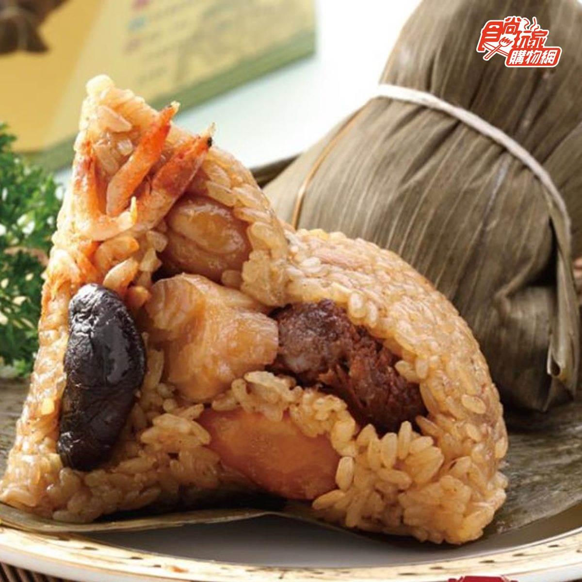 餡料超浮誇!端午必吃6款海陸粽:現宰活鮑魚、東港蒲燒鰻、野生烏魚子