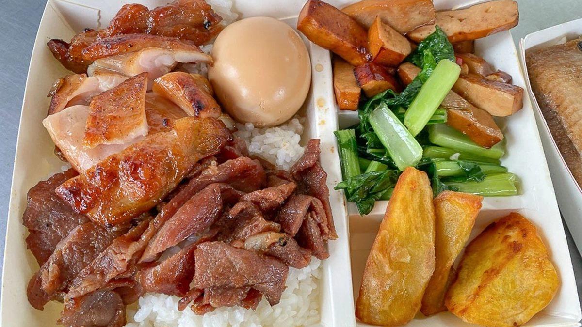 外帶回家吃!台南5家高CP值便當:60元烤鴨飯、香港師傅燒臘、炙燒明太子雞腿