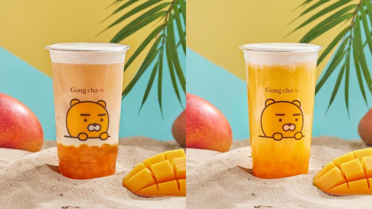 寶石般的「芒果珍珠」來了!貢茶xKAKAO芒果季3飲品,加購有超Q「萊恩飲料提袋」