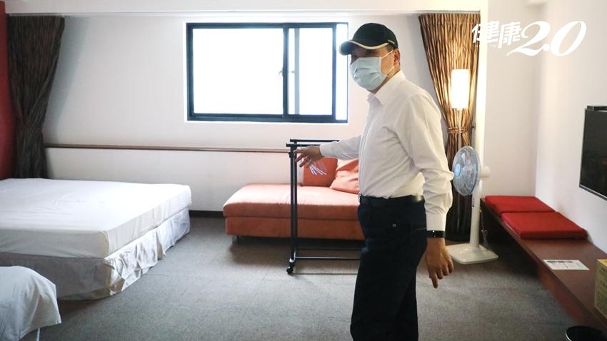 新北市增3處社區篩檢站 每日可篩檢1000人!5/21 飯店183間房轉型集中檢疫中心