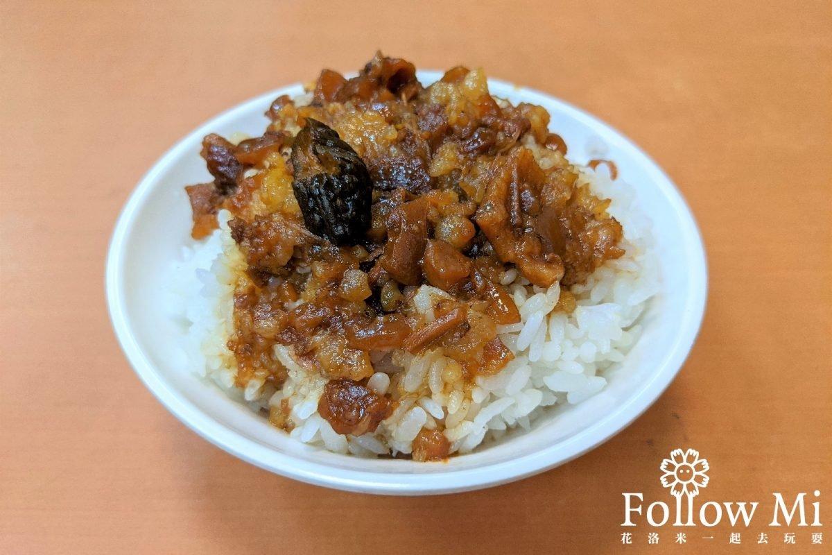 美食願望清單+1!晴光市場「滷肉飯」亞洲爭光,手切滷肉肥瘦適中、白菜滷超鮮甜