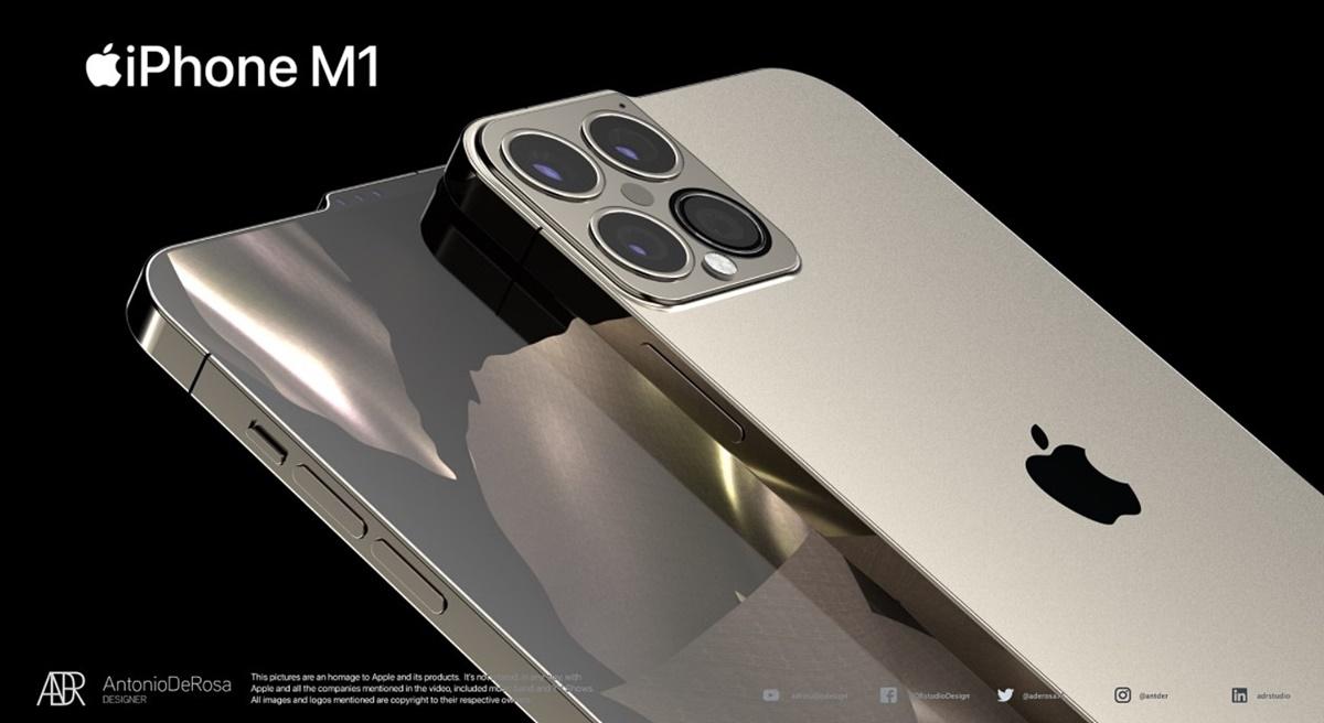 蘋果手機終於被「剪瀏海」!最新曝光iPhone M1髮型抓起來,還有4顆鏡頭可拍