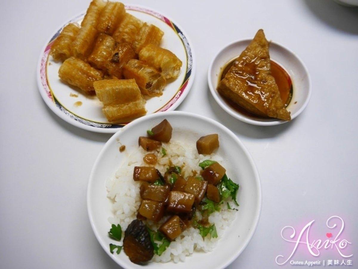 在地人早餐組合!台南80年老店必點肉燥飯+肉汁油條,澎派綜合湯1碗有5種配料
