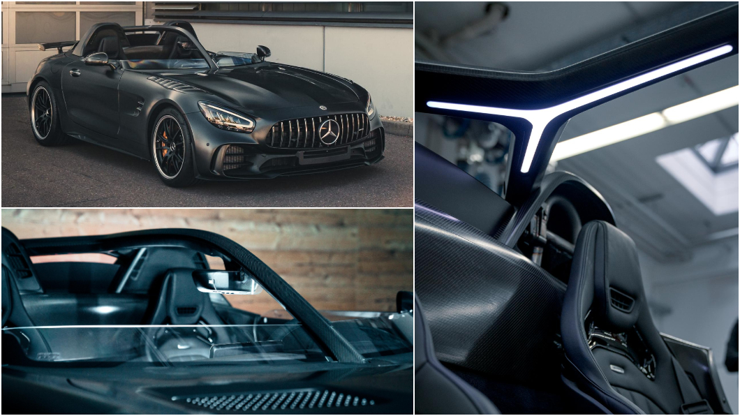 德國工業設計師Roland A. Bussink設計全球僅有5輛的Mercedes-AMG GT R SpeedLegend。(圖片來源/ Bussink IG) M-AMG GT上夾腳拖? 全球限量5輛還有850匹最大馬力
