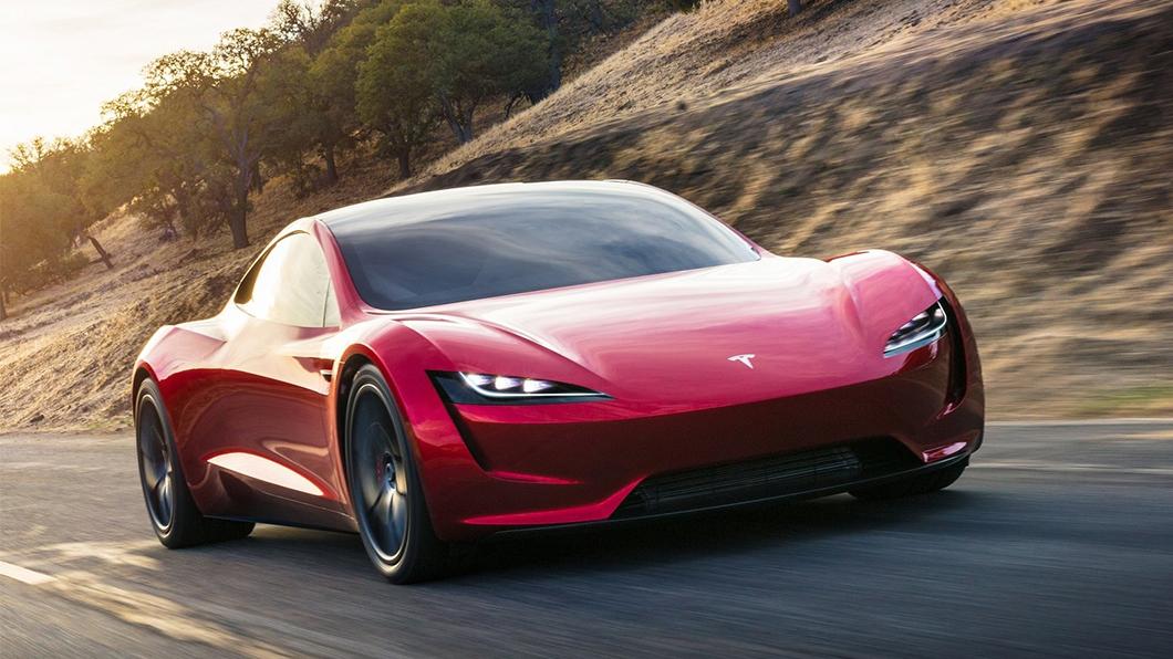 第二代Roadster將提供選配「推進器」,0-96公里只要1.1秒。(圖片來源/ Tesla) 特斯拉電動超跑可以選配「火箭推進器」 閃電霹靂車即將成真?