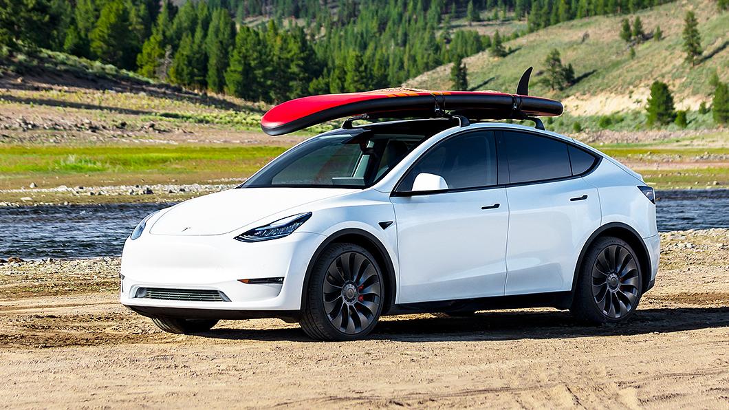 外傳Model Y有可能於今年第三季來臺,但臺灣特斯拉嚴正否認。(圖片來源/ Tesla)  傳電動休旅Model Y第三季來台? 特斯拉七字嚴正回應