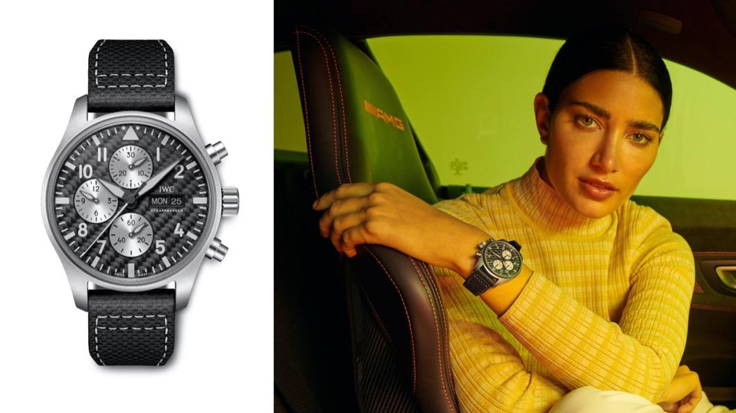 AMG自2004年開始AMG就與瑞士鐘錶大廠IWC合作。(圖片來源/ M-Benz) AMG與IWC雙強聯手 特別版飛行員計時腕錶開放預購