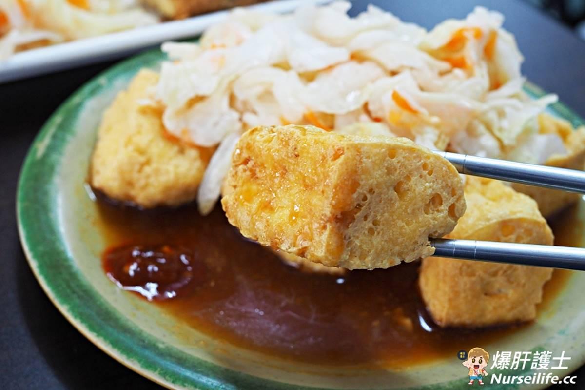 愈臭愈愛!30年老店必嘗古法發酵「蛋捲臭豆腐」,酥脆外皮蘸醬吃臭味更升級