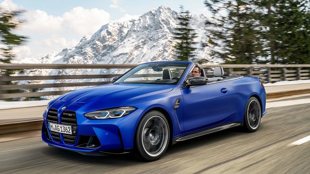 BMW為G82世代M4 Competition推出敞篷版本。(圖片來源/ BMW) 大鼻孔上空辣妹來了! BMW全新敞篷M4亮相
