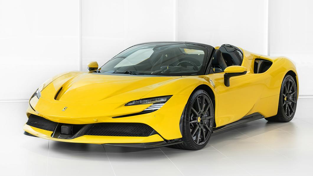 Ferrari SF90 Spider正式登台標配售價2,625萬元起。(圖片來源/ Ferrari) SF90 Spider正式登台! 千匹插電上空烈馬售價2,625萬起