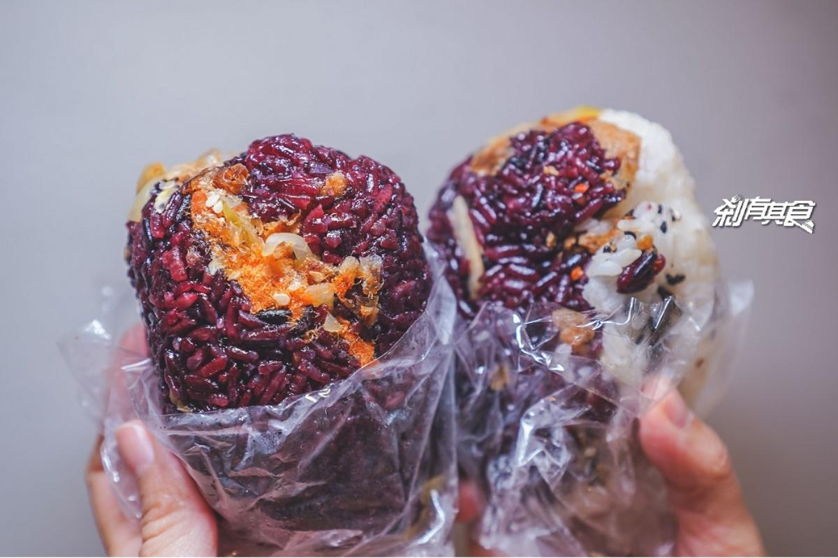 外帶吃最方便!台中7家高CP值飯糰:30年阿婆老店、客家小炒內餡、紫米雙色