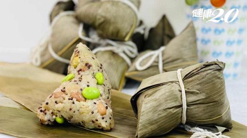 端午節吃粽不吃重5技巧 營養師教你包2種健康粽 吃鹹或吃甜熱量少一半