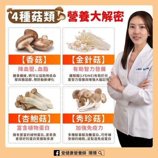 「菇類」降血壓、血脂,也能增強大腦!營養師解密4種菇,鴻喜菇需要清洗嗎?