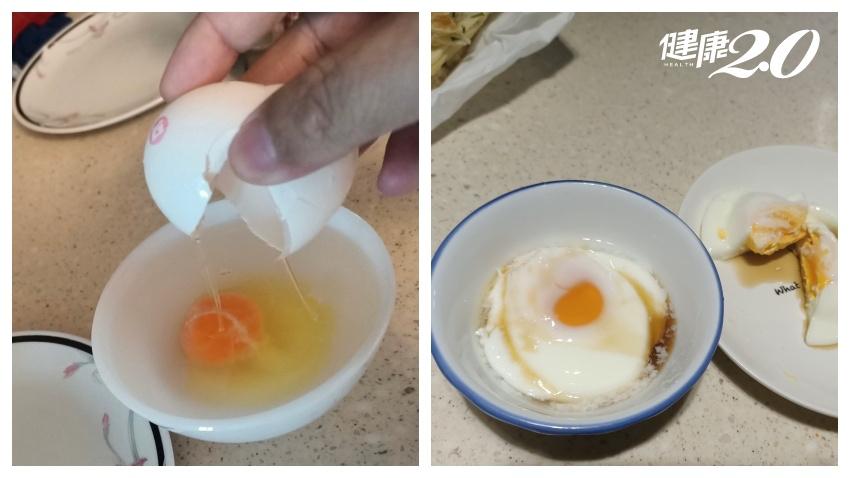 宅在家不必天天吃水煮蛋 專家教5種微波蛋,免油煙45秒上桌