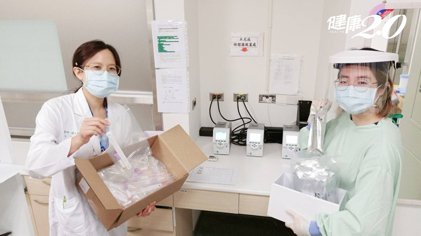 中醫大行動採檢亭啟用 「零接觸、採檢分流」降低醫護與民眾染疫風險