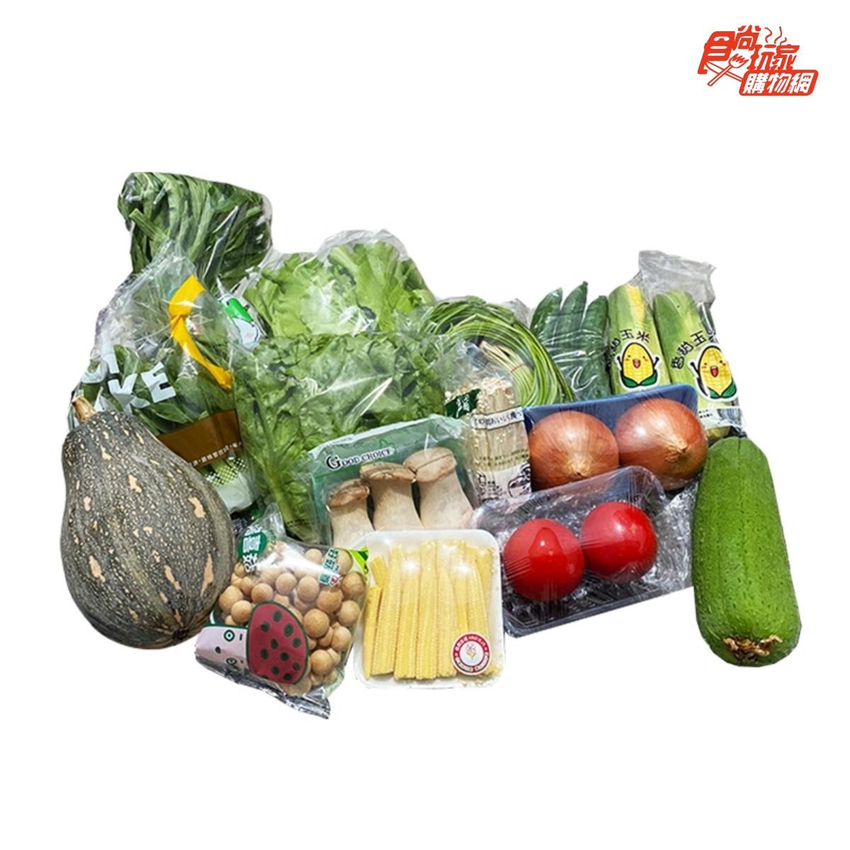 免出門採買!5款產地直送防疫食材箱:無塵水耕活菜、每日現採鮮果、東北角活凍小卷