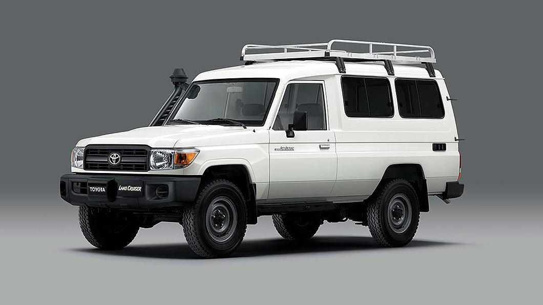 Toyota以Land Cruiser 78為載具,安裝疫苗冷藏設備打造冷鏈運輸車。(圖片來源/ Toyota) Toyota打造越野冷鏈運輸車 Land Cruiser化身疫苗配送特派員
