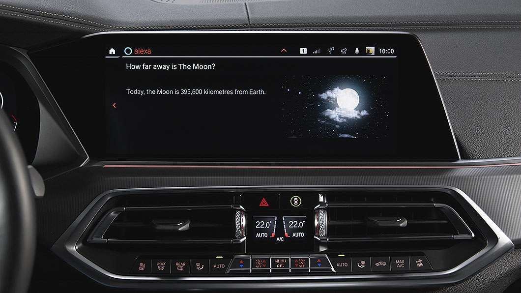 BMW將提供iDrive 7資訊娛樂版本升級,部分國家新增Alexa語音助理功能。(圖片來源/ BMW) iDrive 7再次升級全球130萬受惠 BMW原廠聯網導航再升級