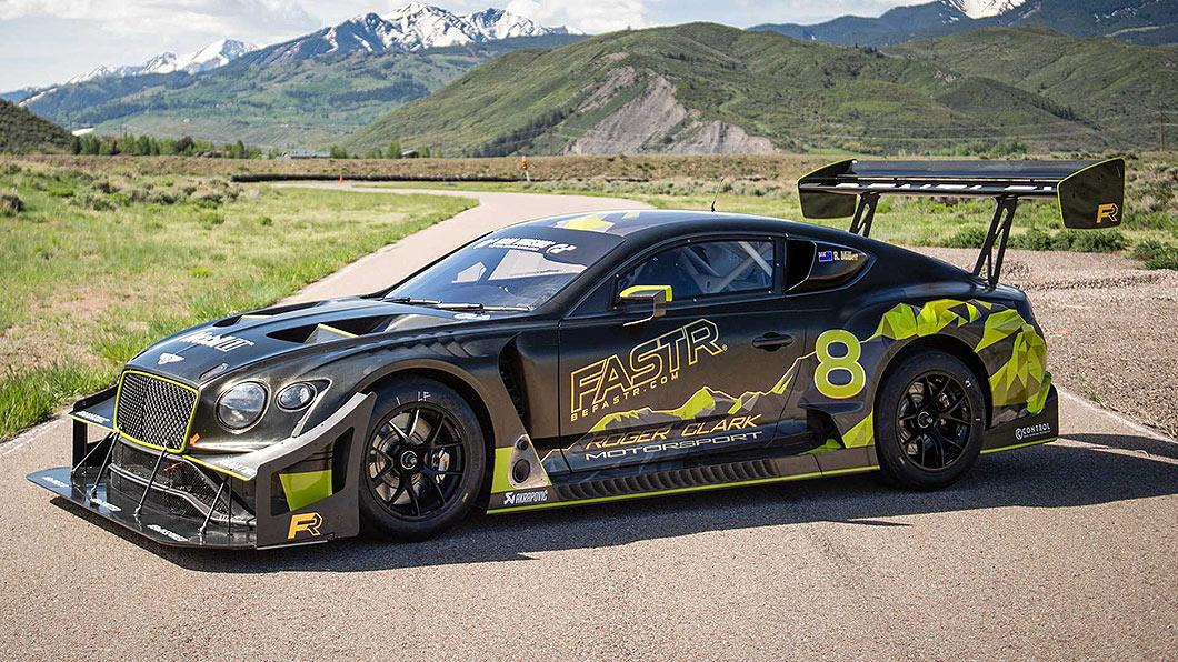 Bentley以Continental GT3為基礎,針對派克峰賽事的特性進行調校。(圖片來源/ Bentley) 爬山賽版Continental GT3為破紀錄而生 月底出戰派克峰