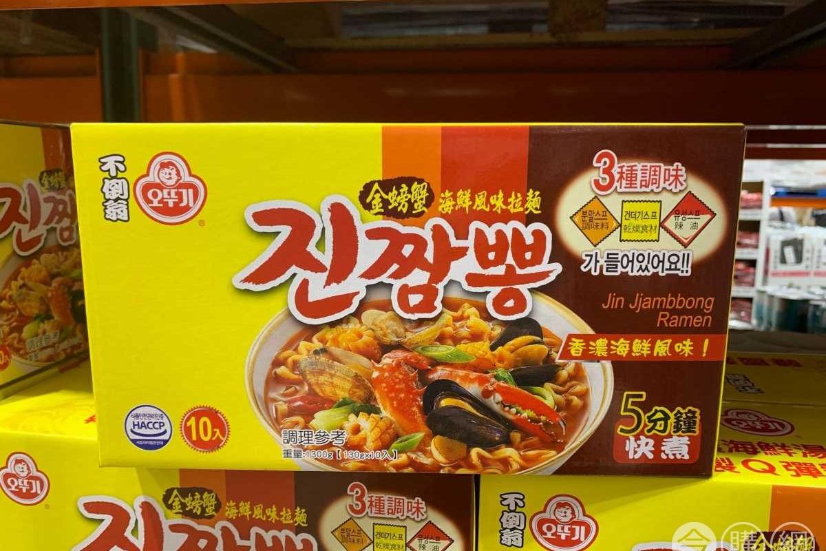 吃膩辛拉麵?好市多超夯「金螃蟹拉麵」被掃空,網曝「3種吃法」美味升級