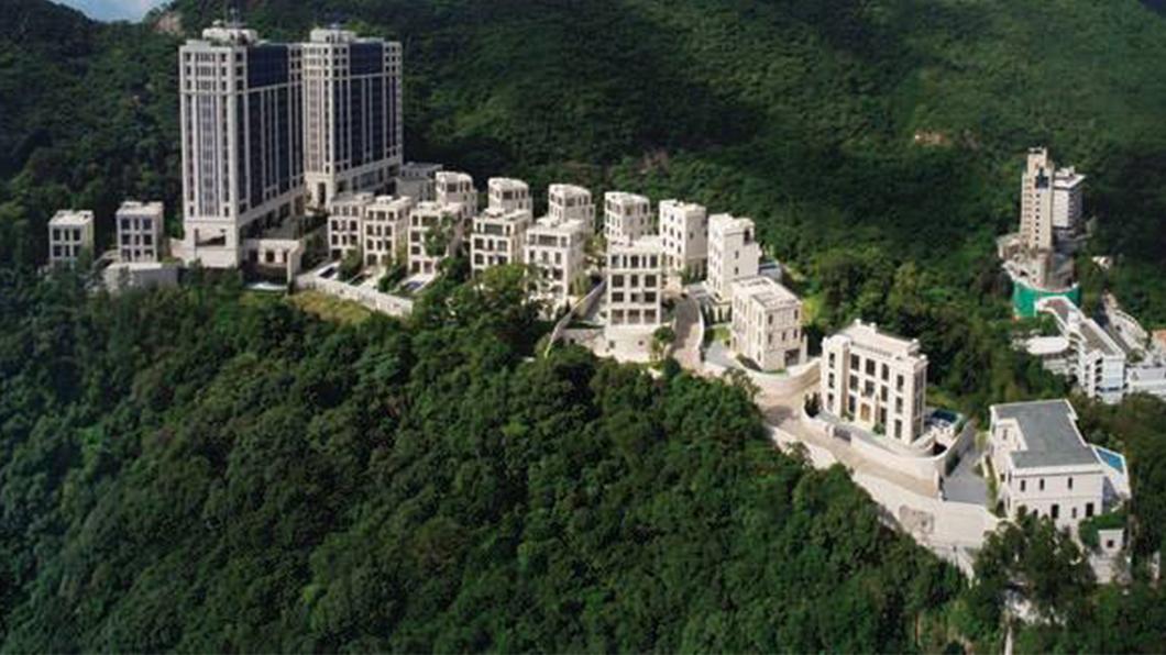 Mount Nicholson豪宅區拍賣出一個停車位高達130萬美元的世界紀錄。(圖片來源/ 截自FB) 一個「車位」賣3600萬! 香港豪宅車位價格破世界紀錄