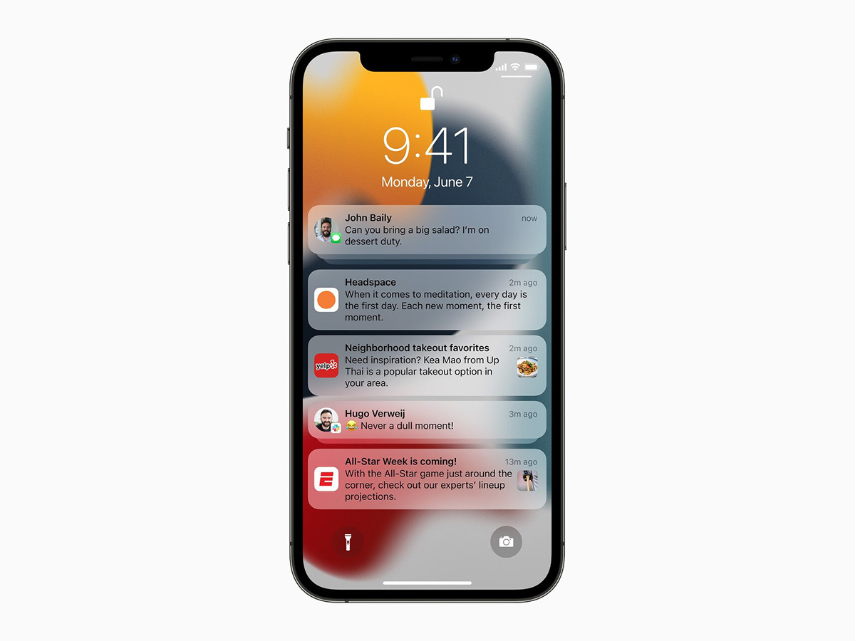 Apple全新「iOS 15」5大功能曝光!WFH必備「專注模式」、通知體驗自動分類訊息