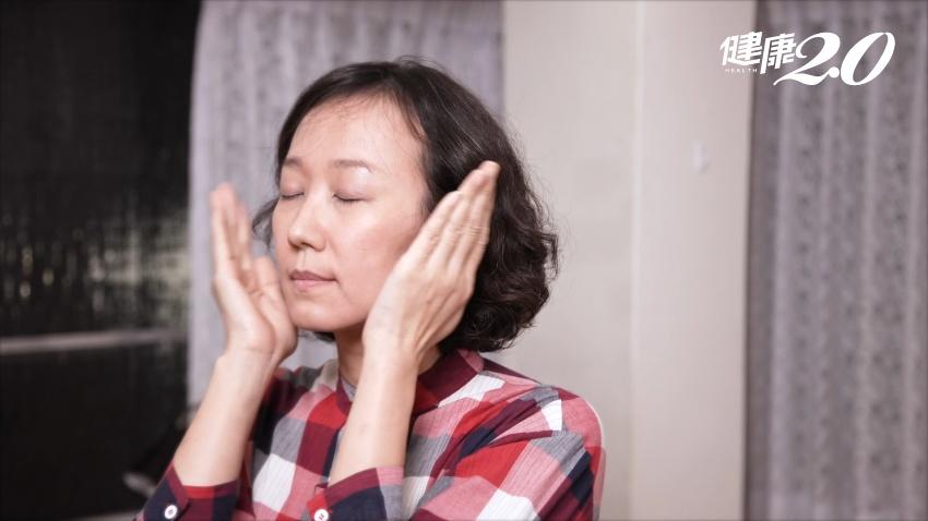 防疫待在家小心變黃臉婆!每天1分鐘臉部按摩 找回自然好氣色