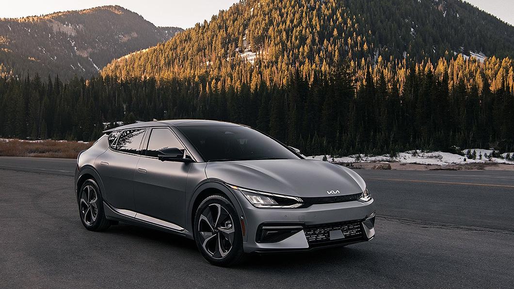 限量1,500輛的Kia EV6電動車,在北美預購網站開放首日便訂購一空。(圖片來源/ Kia) Kia EV6純電新車供不應求 首發特別版一天就賣完