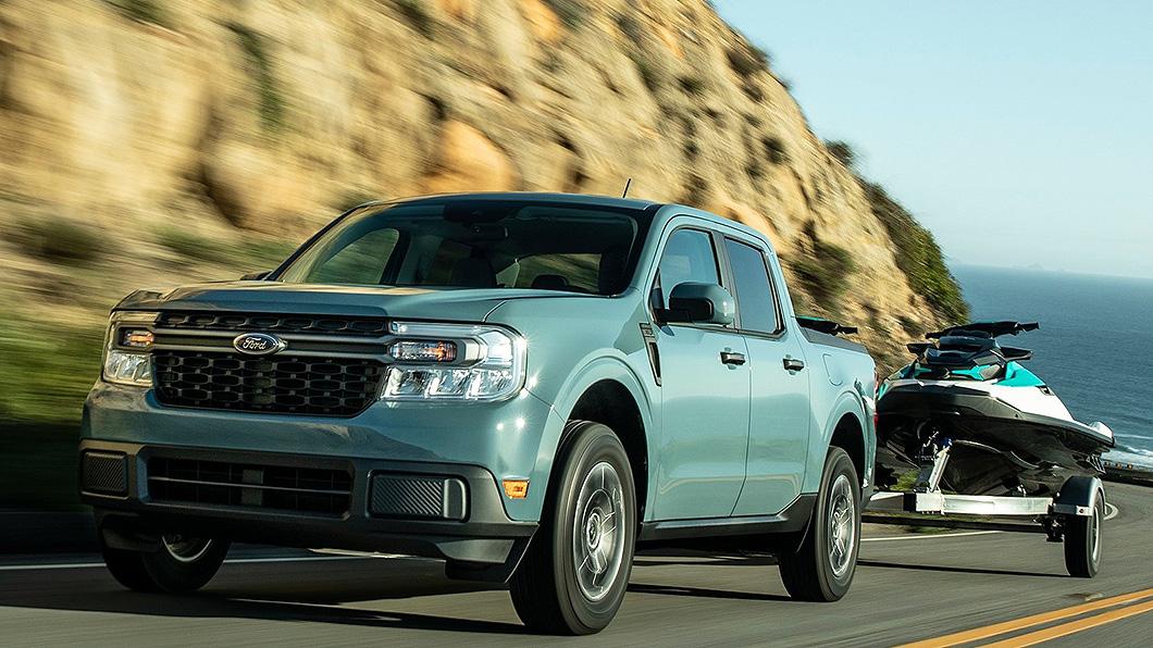Ford本月發表貨卡家族中最入門「小巧」的車系Maverick,台灣目前沒有導入計畫。(圖片來源/ Ford) Maverick剛發就傳將推純電版? 集團北美主管透露消息