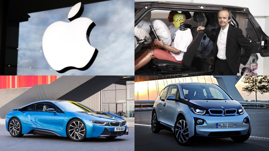 Apple招募前BMW資深副總Ulrich Kranz,他是BMW i3、i8電動車系列的重要推手。(圖片來源/ BMW、Shutterstock) Apple挖角BMW電動車人材? 找來BMW i3、i8幕後推手