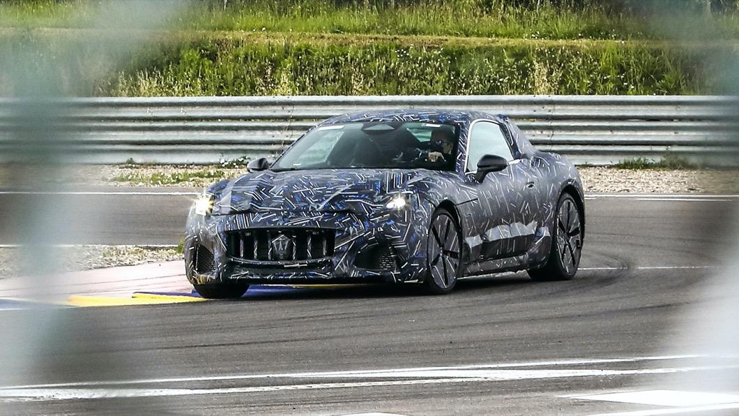 Maserati旗下的GranTurismo可說是該品牌當家的GT雙門跑車產品。(圖片來源/ Maserati) 瑪莎拉蒂GranTurismo原型車曝光 將扛起品牌首款EV跑車招牌