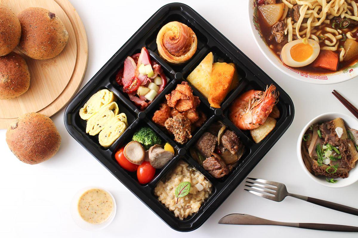 外帶自取85折!法式餐廳「九宮格餐盒」預訂才吃得到,紅酒番茄牛肉麵酸香誘人