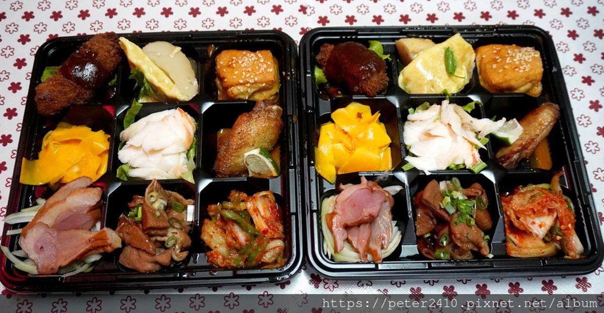 吃貨快筆記!北部9家滿料系外帶餐盒:韓式九宮格、浮誇蟹便當、150元雙魚飯