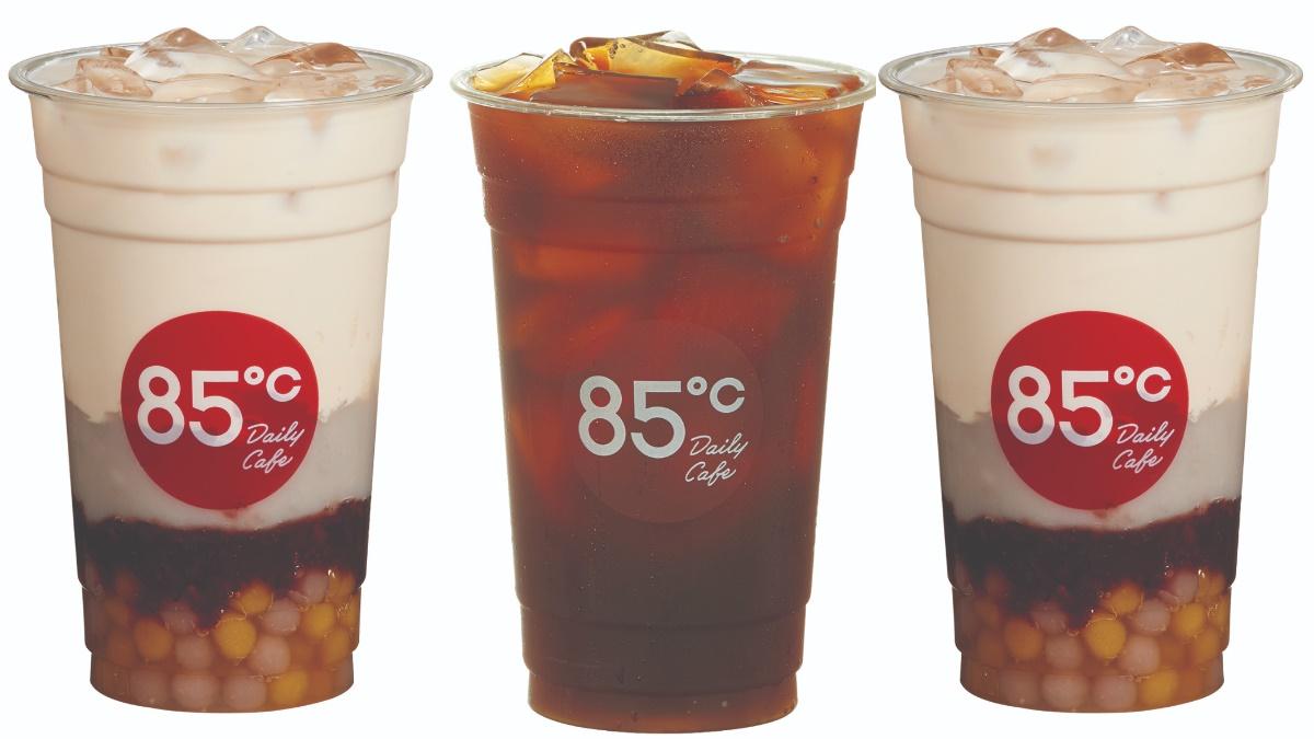 85度C最浮誇「爆料奶茶」全台新上市!3款鮮奶茶+雙色地瓜芋圓、紫米、芋泥1杯喝到飽