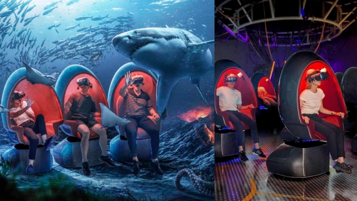 與鯊魚共遊!基隆「潮境智能海洋館」10月開幕,「海底隧道+VR體驗」徜徉海底世界