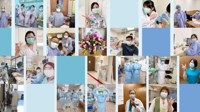 愛在疫起時/感動!醫護大合唱撫慰人心,守護台灣的心跳聲