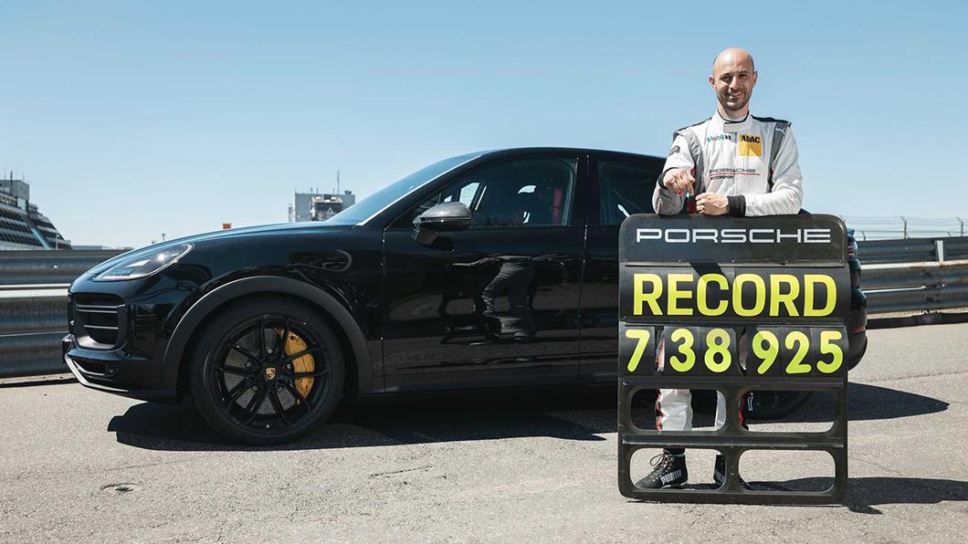 尚處開發階段的Porsche Cayenne Coupe原型車在紐伯林北環賽道以7分38.925秒成績,刷新SUV車款的單圈記錄。(圖片來源/ Porsche) 保時捷再闖綠色地獄! Cayenne Coupe刷新SUV最速紀錄