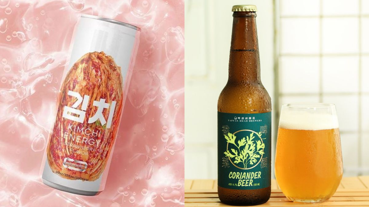 挑戰味覺極限!台、韓推超狂2飲品,「香菜啤酒」最搭豬血糕、「泡菜能量飲」有加草莓