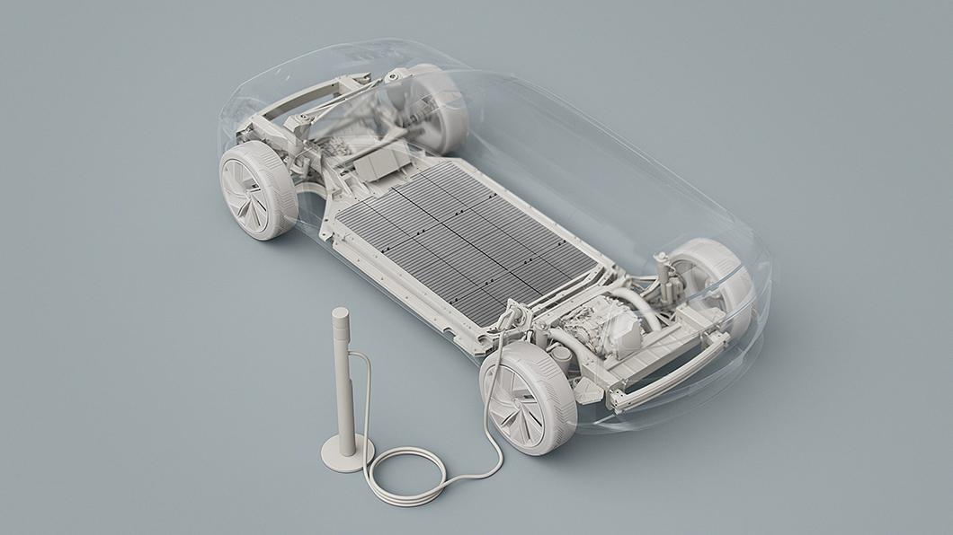 新一代XC60將推純電動版本,有可能於2024年現身。(圖片來源/ Volvo) 純電版XC60有望2024年現身 Volvo版超級工廠同步籌建