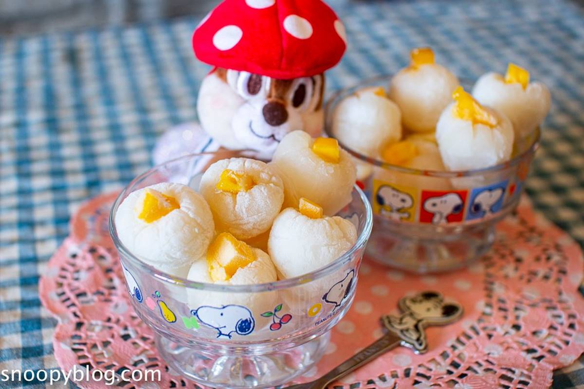 小朋友也會做!超療癒「荔枝芒果凍」3步驟輕鬆完成,煉乳內餡口感宛如冰淇淋